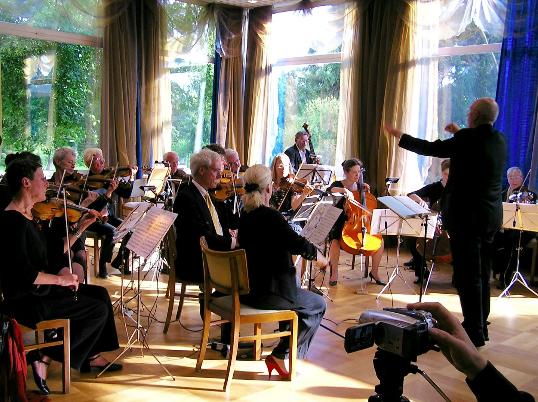 Zehlendorfer Kammerorchester, Dirigent Günter Henze